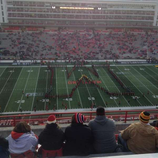 Maryland Stadium, section: 305, row: N, seat: 13
