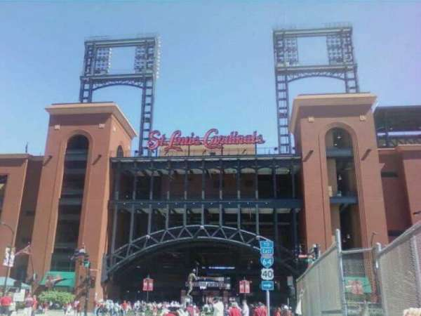 Busch Stadium, section: Gate 3