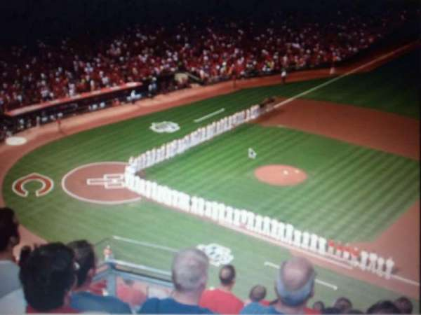 Great American Ball Park, section: 530, row: H, seat: 16
