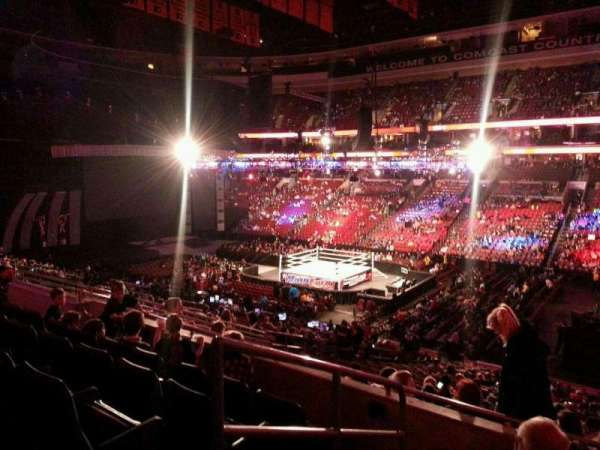 Wells Fargo Center, section: CB3, row: 5, seat: 14