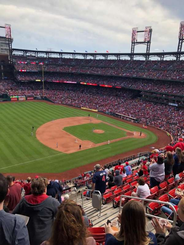 Busch Stadium, section: 361, row: 12, seat: 5