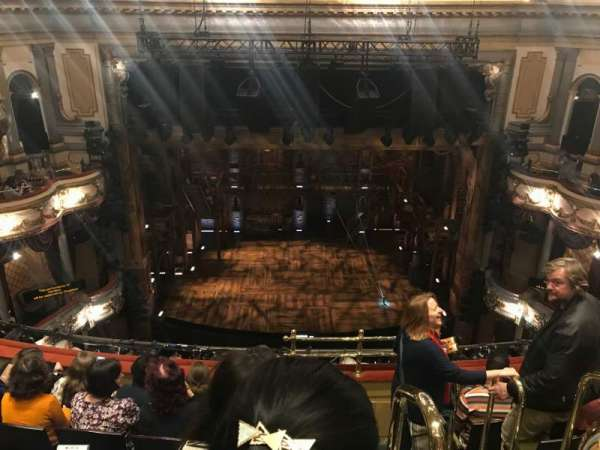 Victoria Palace Theatre, section: Grand Circle, row: F, seat: 21