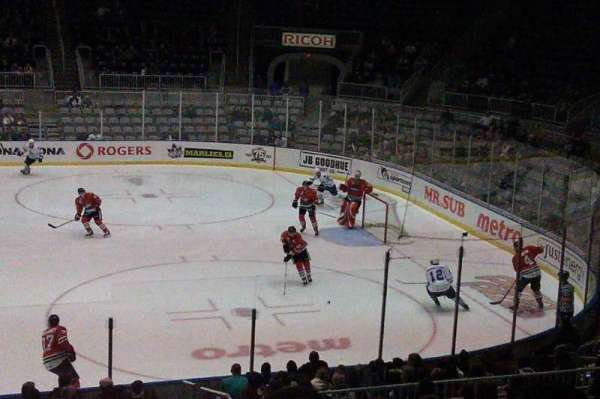 Coca-Cola Coliseum, section: 119, row: M , seat: 16