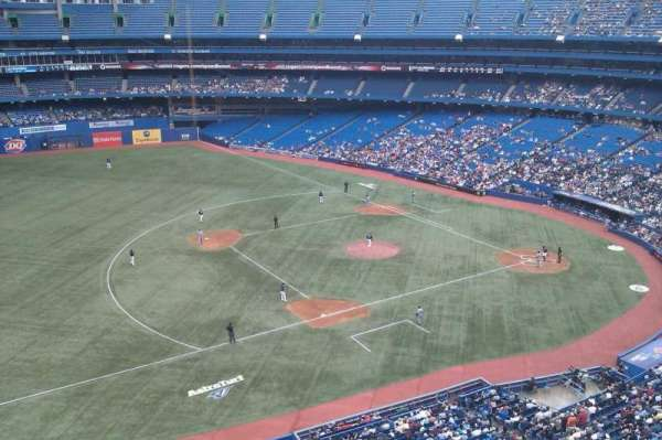Rogers Centre, section: 533R, row: 2, seat: 9