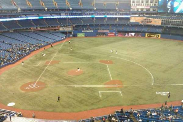 Rogers Centre, section: 519L, row: 2, seat: 103