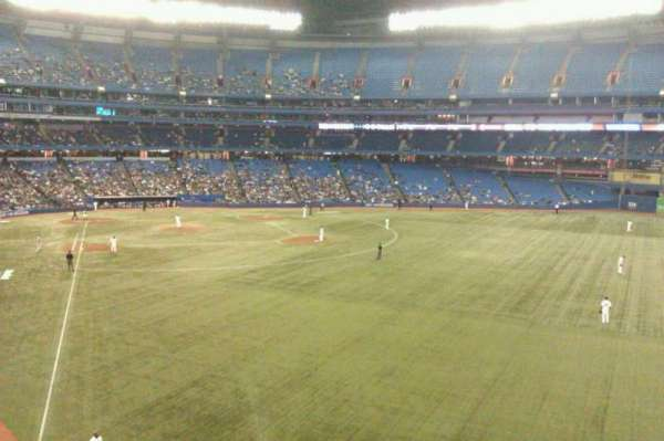 Rogers Centre, section: 209L, row: 3, seat: 101