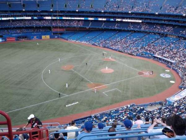 Rogers Centre, section: 533R, row: 12, seat: 3