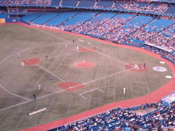 Rogers Centre, section: 533R, row: 12, seat: 4