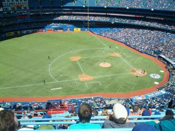 Rogers Centre, section: 531R, row: 22, seat: 6