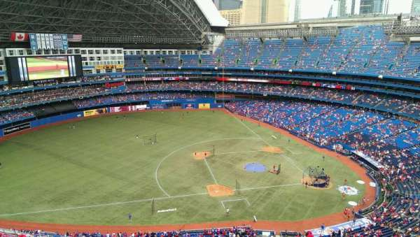 Rogers Centre, section: 531R, row: 21, seat: 03
