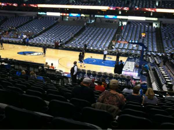 American Airlines Center, section: 117, row: M, seat: 5
