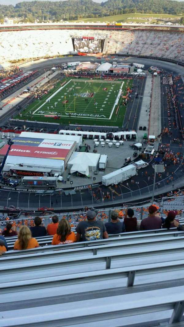 Bristol Motor Speedway, section: Wallace Tower F, row: 13, seat: 9