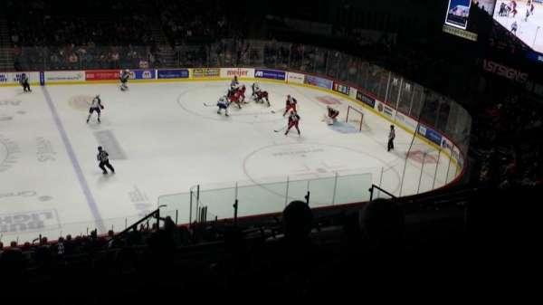 Van Andel Arena, section: 222, row: L, seat: 5