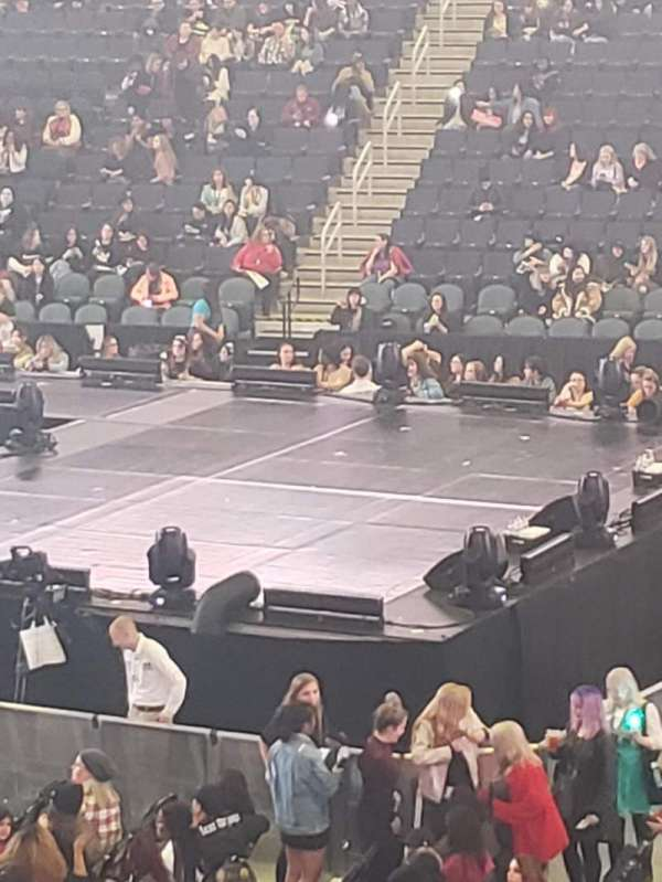 Infinite Energy Arena, section: 119, row: U, seat: 16