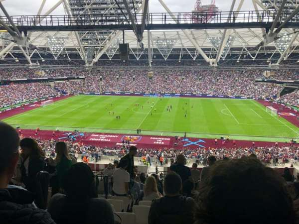 London Stadium, section: 209, row: 66, seat: 394