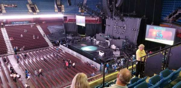 Mohegan Sun Arena, section: 107, row: G, seat: 8