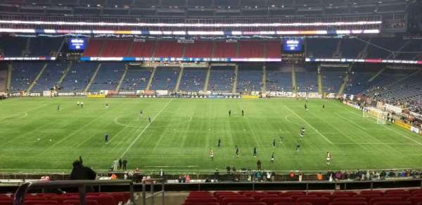 Gillette Stadium, section: Cl8, row: 10, seat: 16