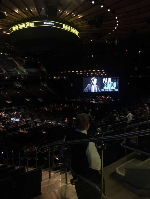 Madison Square Garden, section: 104, row: 20, seat: 22