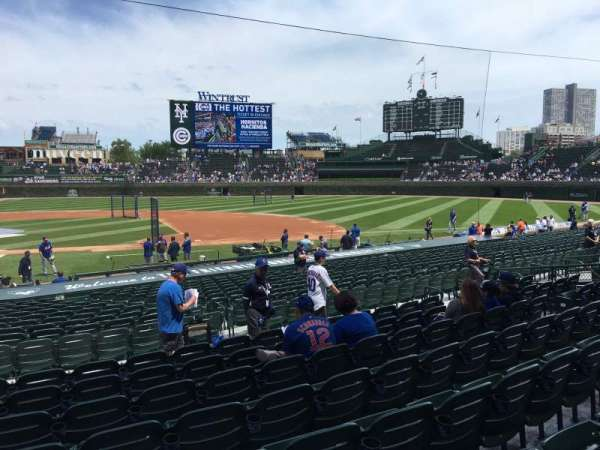 Wrigley Field, section: 124, row: 8, seat: 2