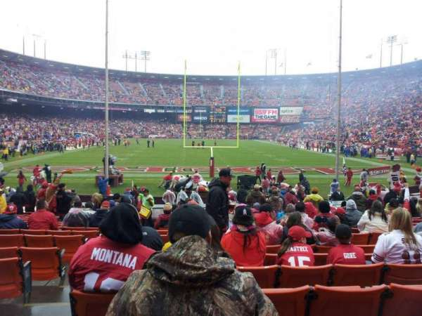 Candlestick Park, section: 7, row: R, seat: 18