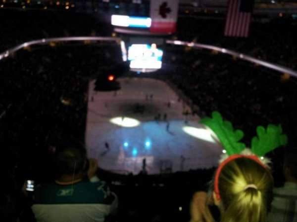 SAP Center, section: 223, row: 18, seat: 8