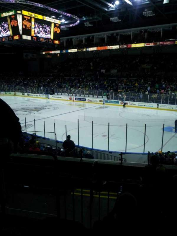 Stockton Arena, section: 212, row: 17, seat: 8