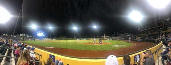 Werner Park, section: 115, row: 3, seat: 6