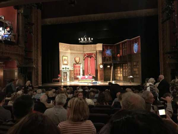 Lyceum Theatre (Broadway), section: Orchestra, row: O, seat: 104