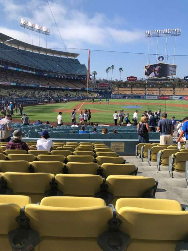 Dodger Stadium, section: 10FD, row: L, seat: 10