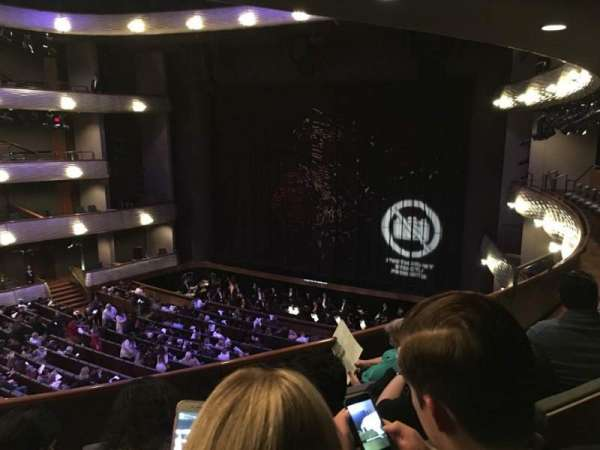 Winspear Opera House, section: Mezzanine Center, row: D, seat: 50