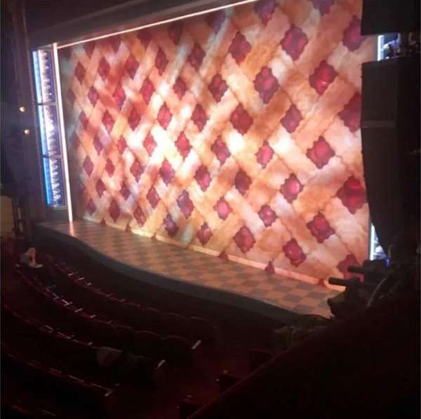 Brooks Atkinson Theatre, section: Right Box, row: 2, seat: 3