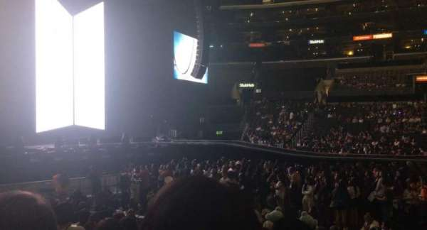 Staples Center, section: 112, row: 11, seat: 3