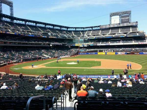 Citi Field, section: 113, row: 26, seat: 1