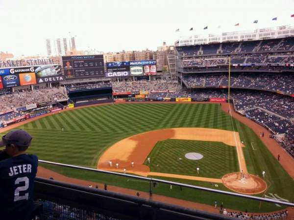 Yankee Stadium, section: 423, row: 2, seat: 3