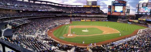 Citi Field, section: 419, row: 3, seat: 1