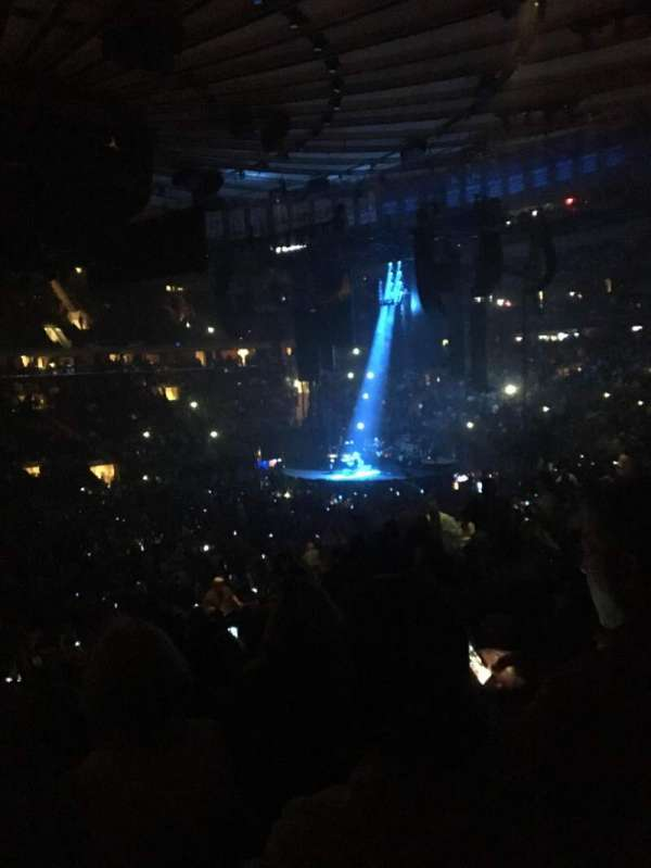 Madison Square Garden, section: 106, row: 22, seat: 3
