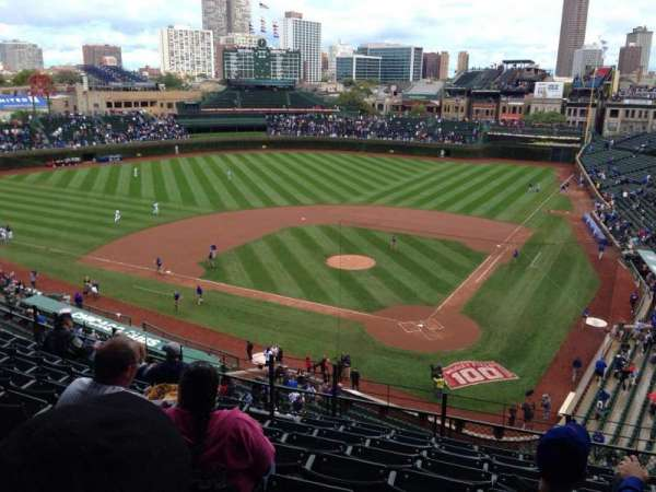 Wrigley Field, section: 315L, row: 9, seat: 1