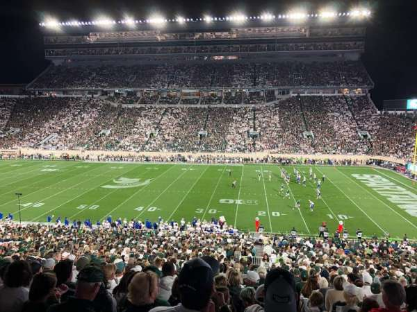 Spartan Stadium, section: 7, row: 52, seat: 20