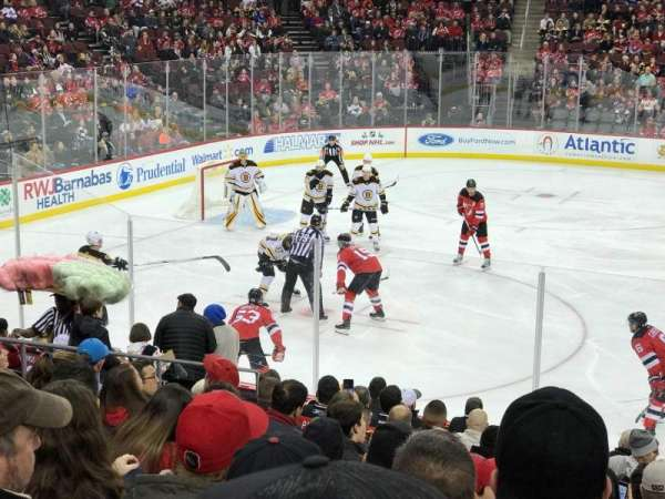 Prudential Center, section: 7, row: 13, seat: 10