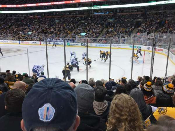 TD Garden, section: Loge 9, row: 10, seat: 9