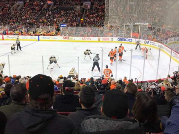 Wells Fargo Center, section: 115, row: 16, seat: 16