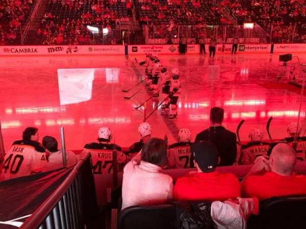 Prudential Center, section: 7, row: 7, seat: 6