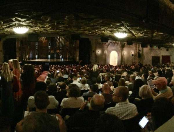 Orpheum Theatre (San Francisco), section: Orchestra RC, row: CC, seat: 102