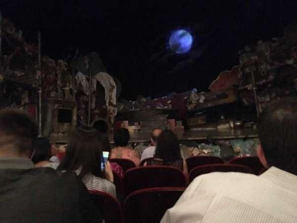 Neil Simon Theatre, section: Orchestra, row: E, seat: 112