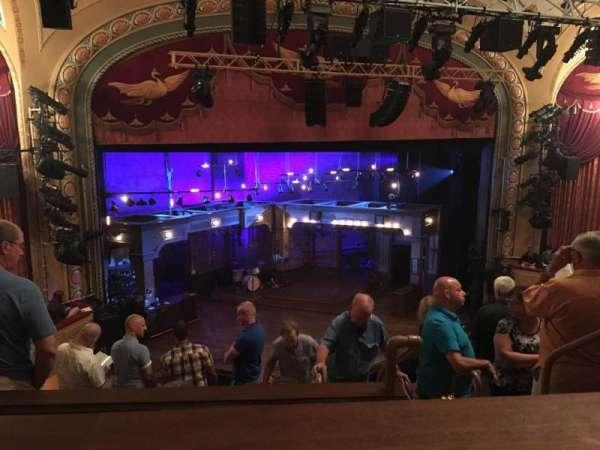 Bernard B. Jacobs Theatre, section: Mezzanine L, row: E, seat: 5