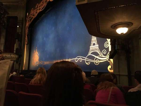 Broadhurst Theatre, section: Orchestra, row: F, seat: 20