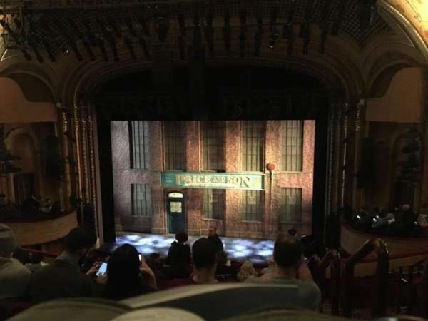 Al Hirschfeld Theatre, section: Mezzanine, row: L, seat: 101