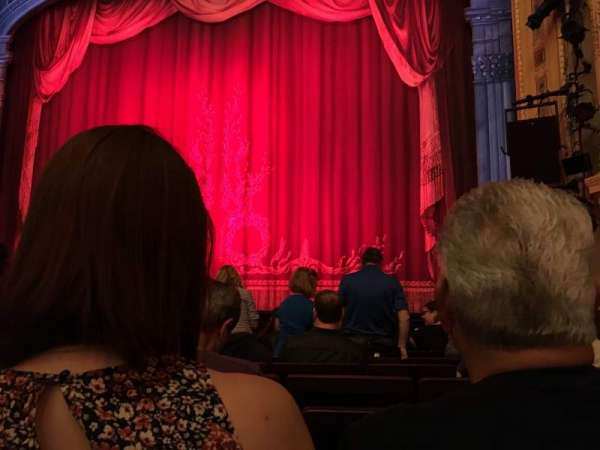 Hudson Theatre, section: Orchestra, row: H, seat: 118