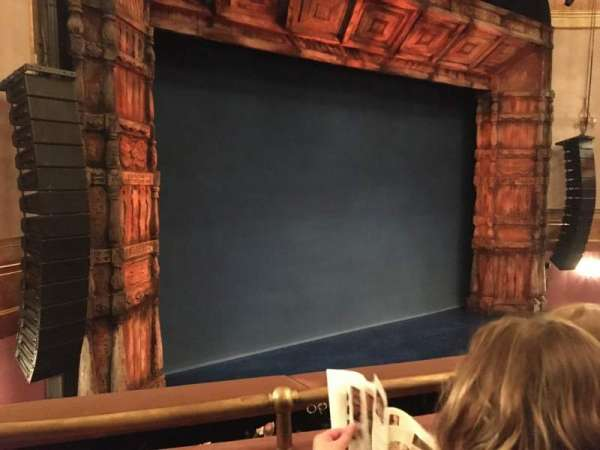 St. James Theatre, section: Mezzanine L, row: B, seat: 17
