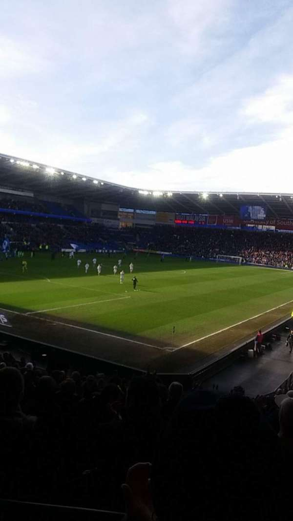 Cardiff City Stadium, section: 121, row: W, seat: 75
